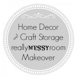 Home Decor and Craft Storage Room Makeover