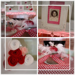 Valentine Mantle and Felt Flower Tutorial