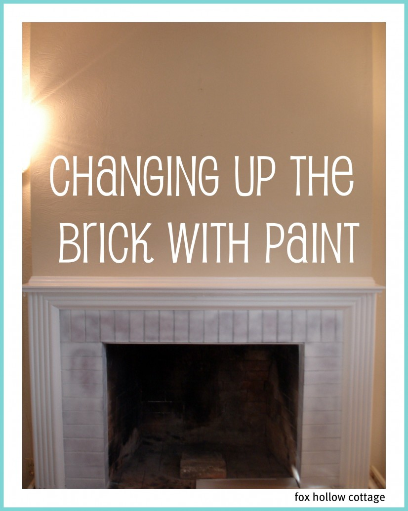 Fireplace prime white brick