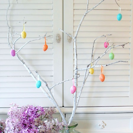 Easter Egg Branch Tree Decoration