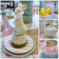 Easter Spring Table Decorating Decor