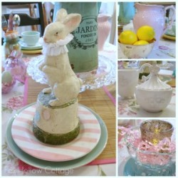 The Great Spring'tacular {tablescaping} Easter/Spring Table