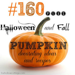 Primp Your Pumpkin {pumpkin themed link party}