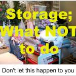Home Decor and Craft Storage; My Achille's Heel