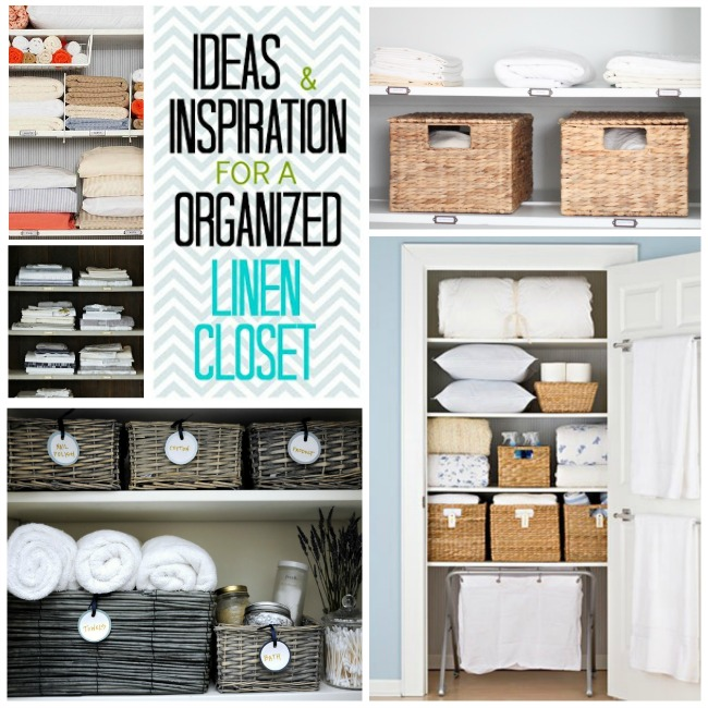 Organization Ideas Hall Linen Closet Inspiration 2