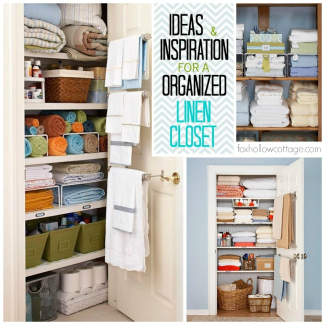 Orginization Ideas Hall Linen Closet Inspiration