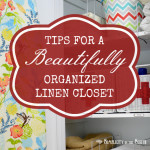 Get Organized! {the linen closet}