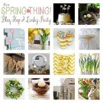 Hop To It! It's A Spring Thing Link Party and Hop