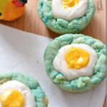 Easter Spring Cadbury Egg Sugar Cookie Dessert Recipe