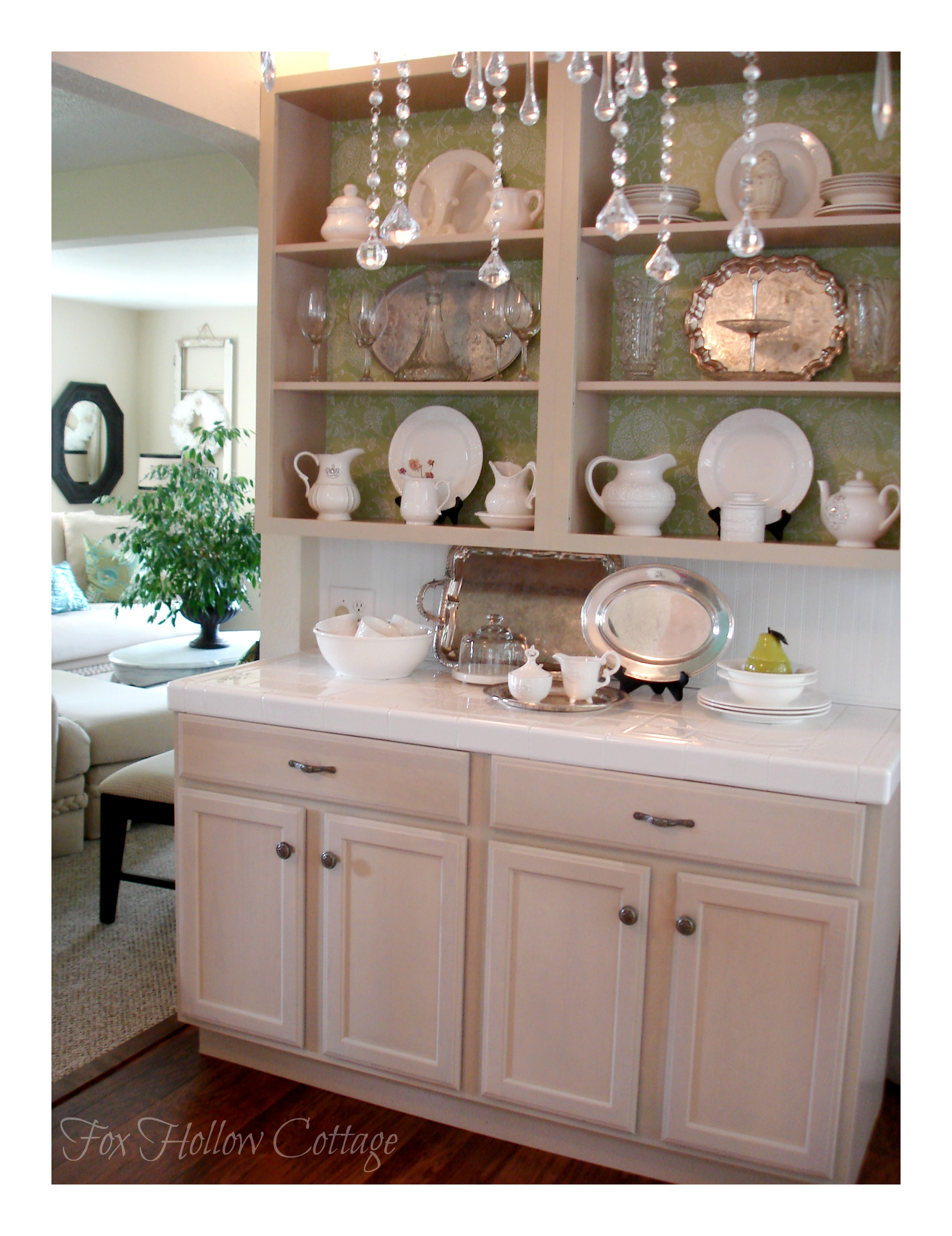 A Kitchen Cabinet Makeover To Diy For And A Giveaway Fox Hollow Cottage