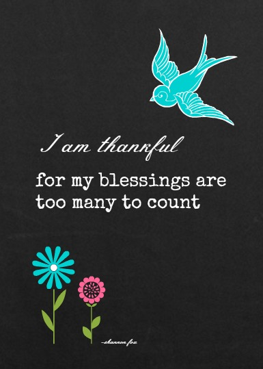 5 x 7 Blessings