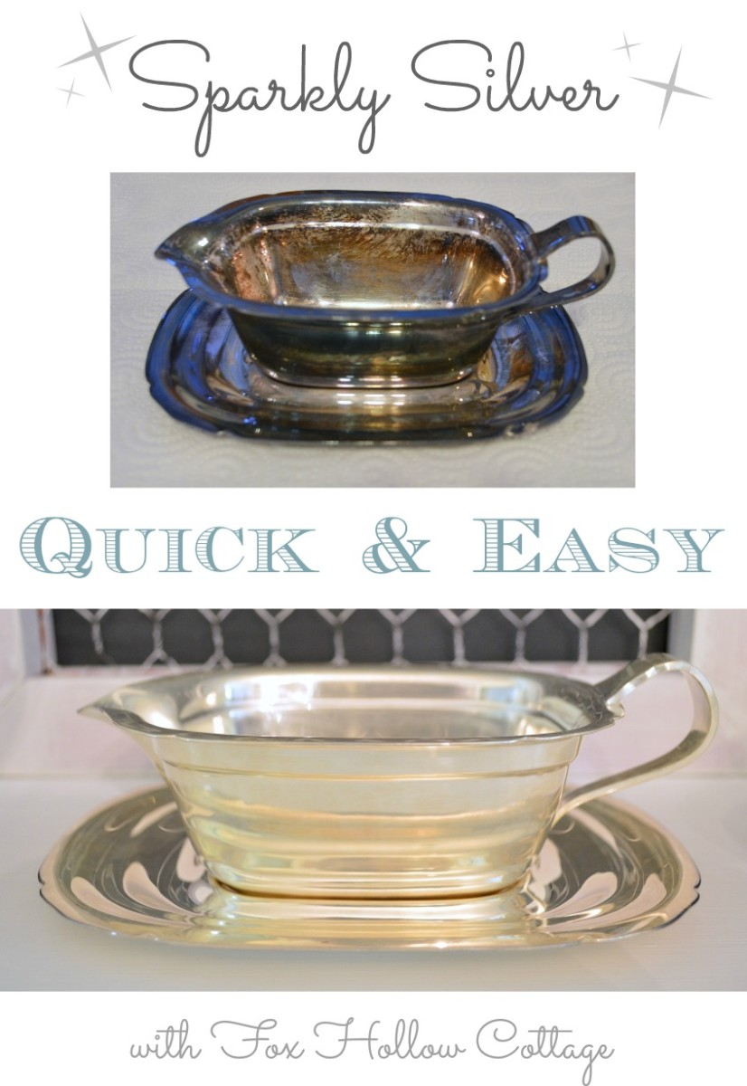 Quick and Easy Silver Cleaning with Fox Hollow Cottage.jpg