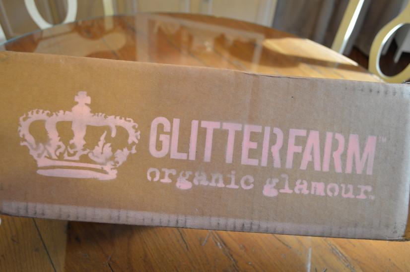 glitterfarm organic glamour crate