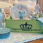 Glitterfarm Organic Glamour {Stylish Shabby Storage}