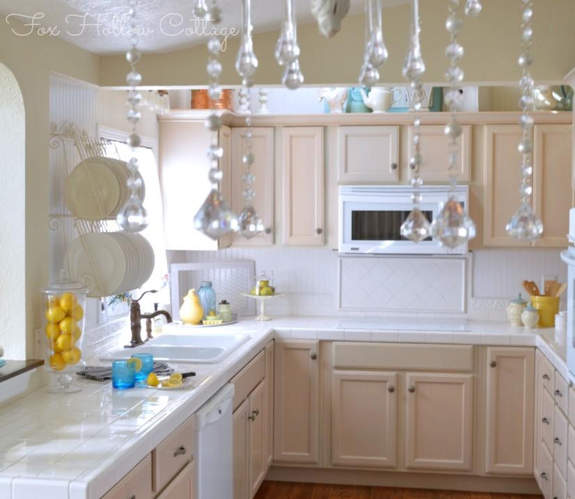 Kitchen Refresher Makeover Fox Hollow Cottage 7 4-2013