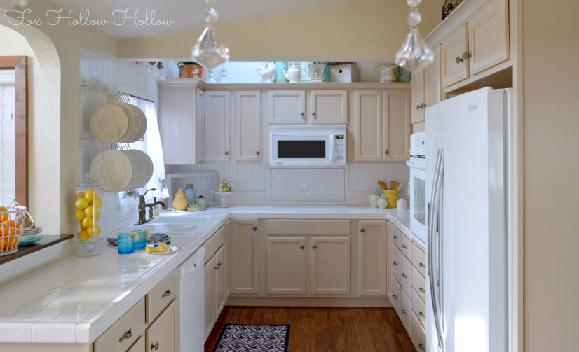 Kitchen Refresher Makeover Fox Hollow Cottage AA 4-2013