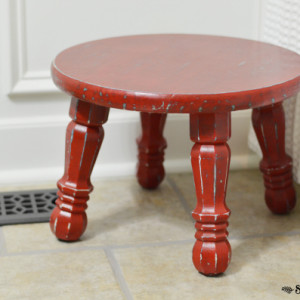 Getting Sentimental; a step stool story