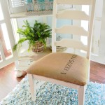 $5 Coffee Sack Chair Makeover