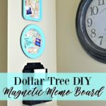 A DIY Dollar Tree Magnetic Map Tray Craft