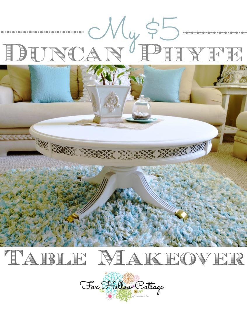 A Duncan Phyfe Magnolia Makeover - Fox Hollow Cottage