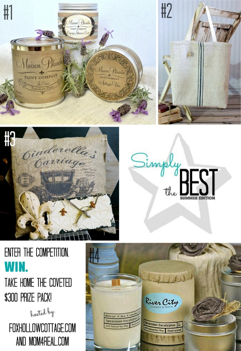 Simply The Best Winner Prize Pack