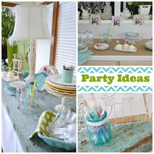 Budget Bridal Shower Decor and Ideas