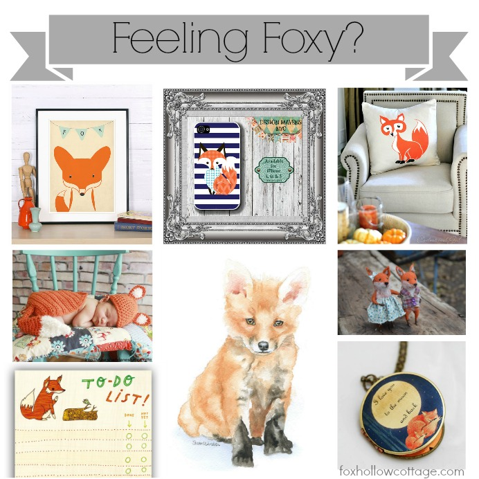 Feeling Foxy Fox Hollow Cottage