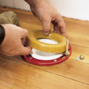 How To Replace A Toilet Wax Ring Fox Hollow Cottage