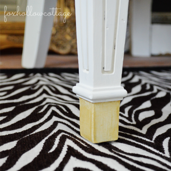 Velvet Upholstery Painted Chair Makeover - Maison Blanche Chalk Style Vintage Furniture Paint Before and After Project Tutorial