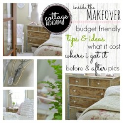 Budget Bedroom Makeover Breakdown