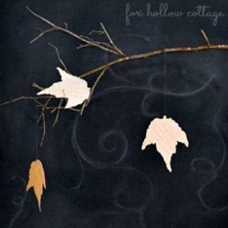 How To Make Fall Leaves with Burlap and Paper Sacks