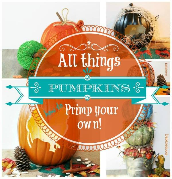 Debbiedoos Pumpkin Fall Halloween Craft
