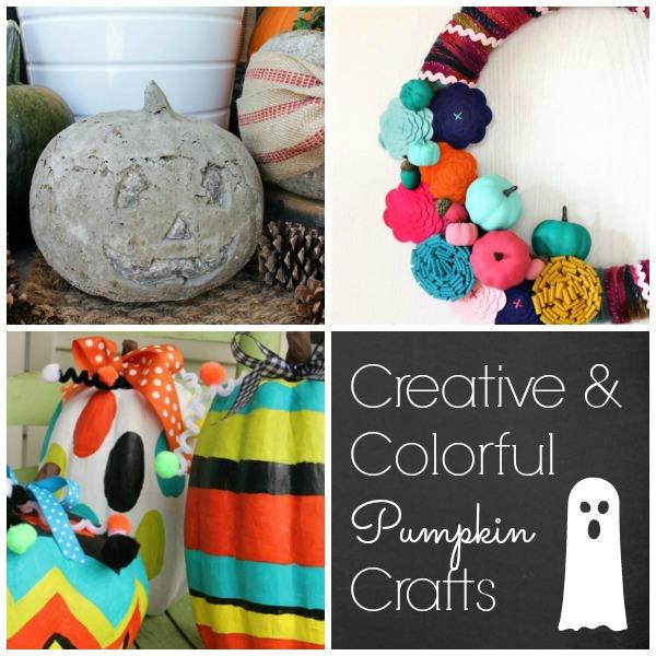 Creative No Crave Pumpkin Craft and Decor Ideas! #pumpkin #pumpkinideas