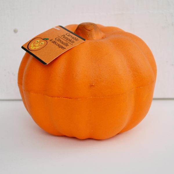 Dollar Tree Foam Faux Funkin Pumpkin