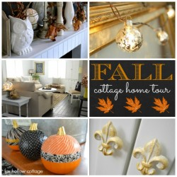 Cottage Home Fall Tour [and a giveaway}