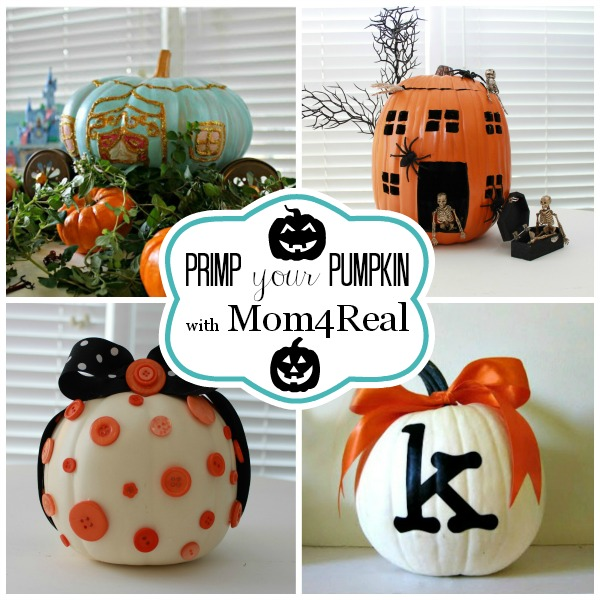 Mom4Real Pumpkin Decorating Ideas