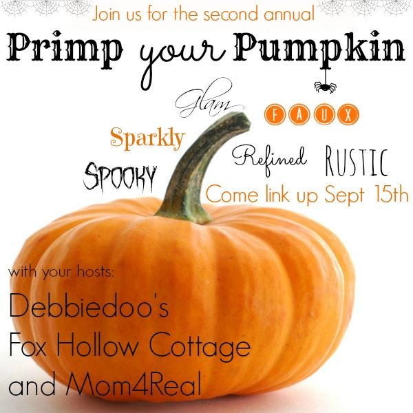 Primp Your Pumpkin Button II