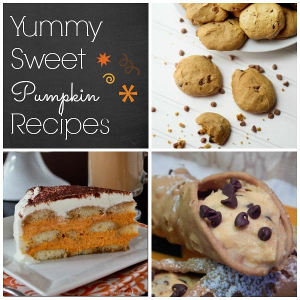 Bake it: Delicious!! Pumpkin Dessert Recipes | #cookies #tiramisu #cannoli