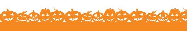 halloween divider image