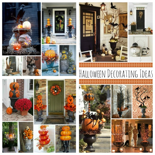 Hallween Edition Decorating with Urns Collection