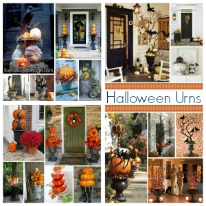 Decorating With Urns the Halloween Edition