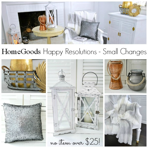 HomeGoods Home Decor Under $25 Collection #homedecor #lantern #mercuryglass #gold