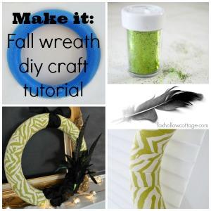 Make it - Fall diy wreath craft tutorial 300