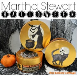 Martha Stewart Decoupage Halloween Craft