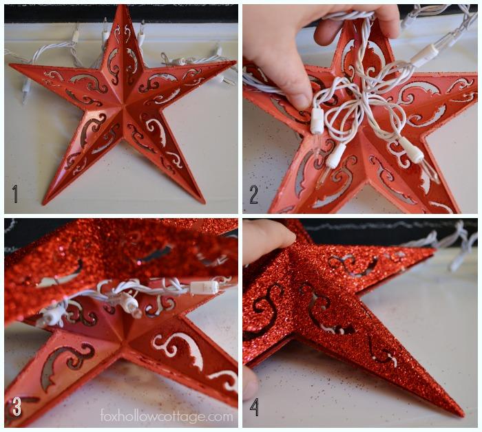 Chriastmas Ornament String Light Tutorial
