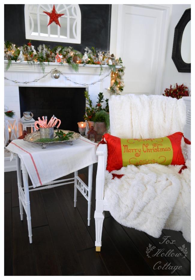 Christmas Holiday Mantel