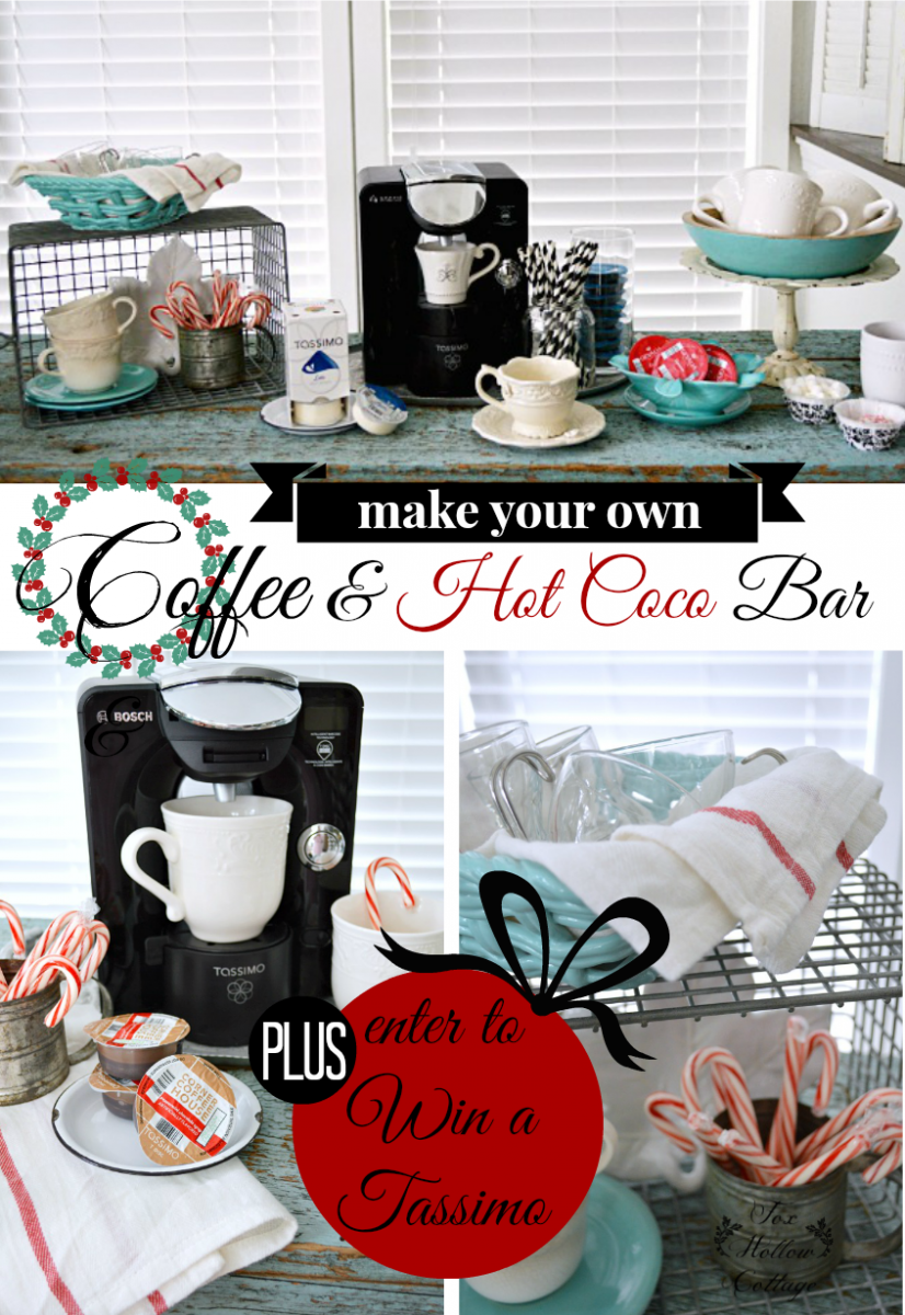 Enter to win a Tassimo T 55 Brewer at foxhollowcottage