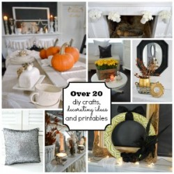 Fall and Thanksgiving Printables-Diy Crafts-Decorating Ideas