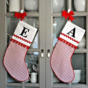 How to make Christmas Stocking 300