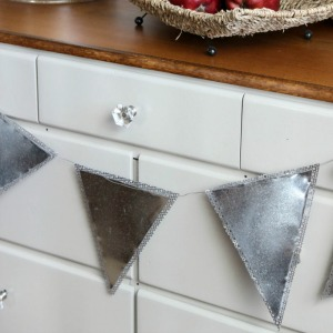 diy galvanized garland